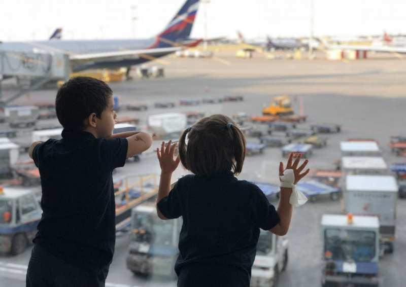 Aeroporti e servizi per famiglie