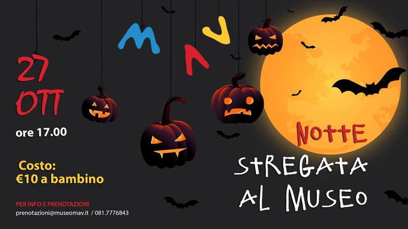 Halloween notte al Museo Mav