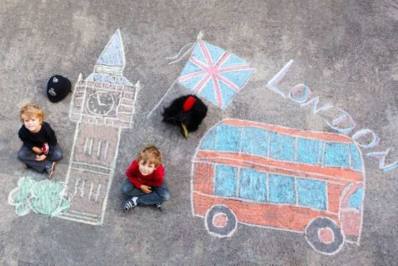 au-pair famiglia inglese bambini