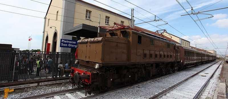 Museo di Pietrarsa, treno storico