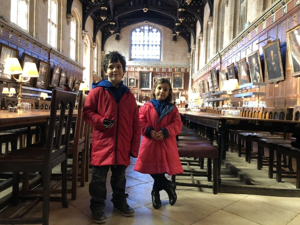 Harry Potter mensa Christ Church Oxford