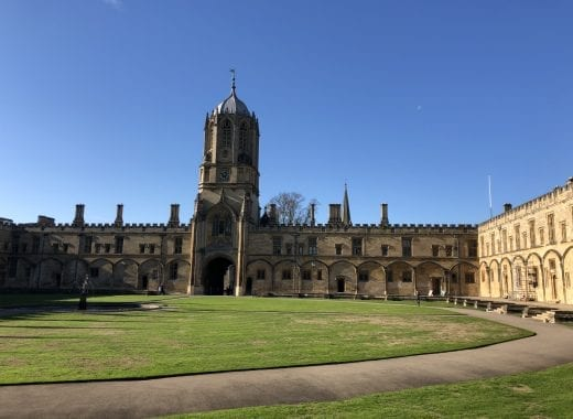 Harry Potter tour Christ Church Oxford