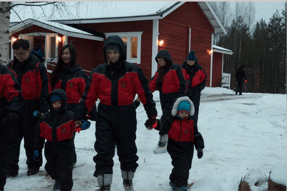 Rovaniemi come vestorsi in inverno
