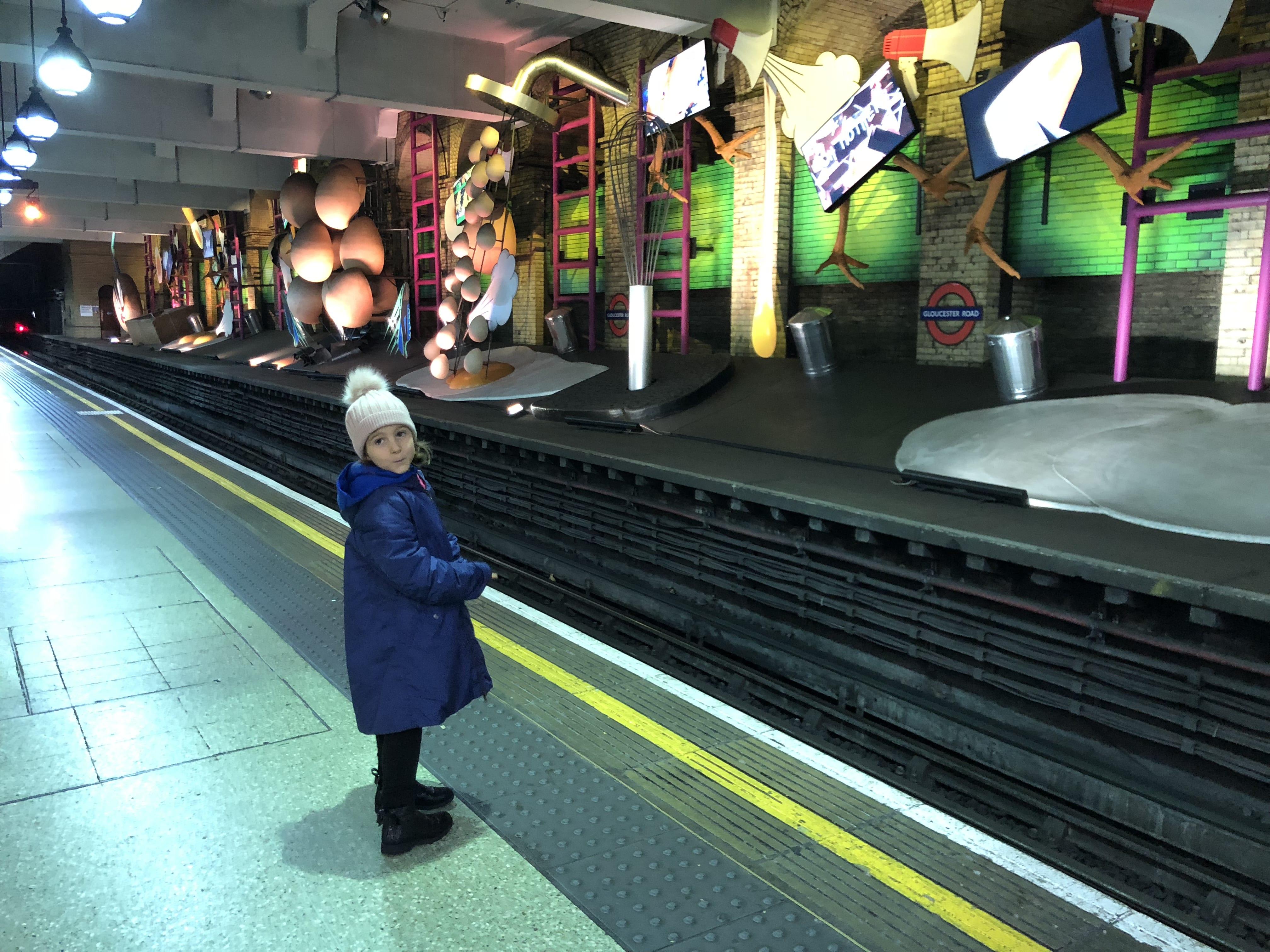 Metro Londra con i bambini