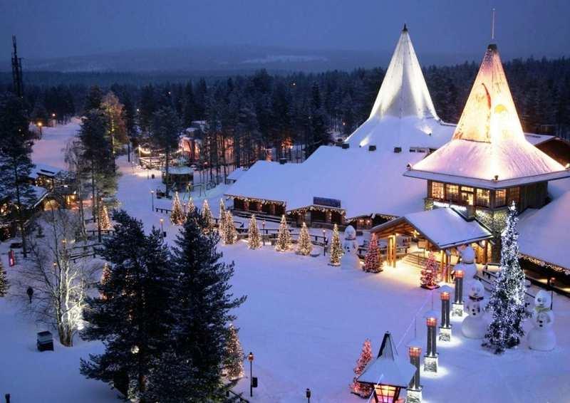 Rovaniemi villaggio babbo natale