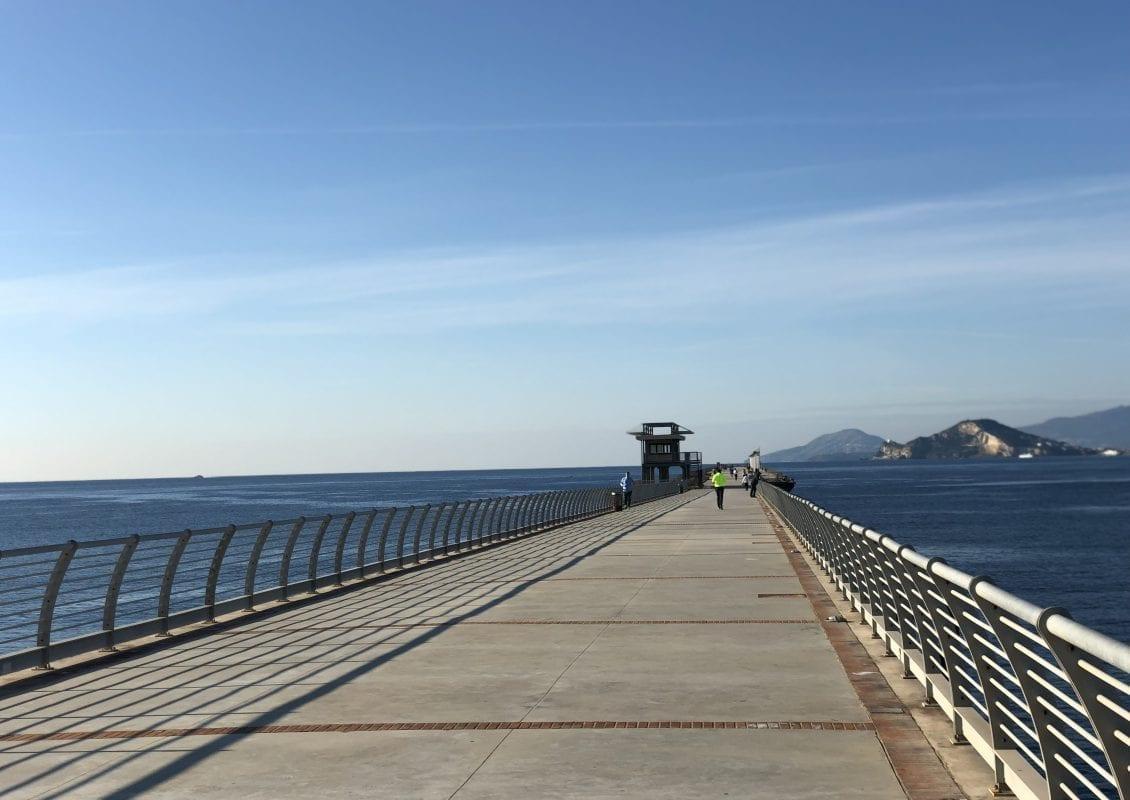 Napoli pontile Bagnoli
