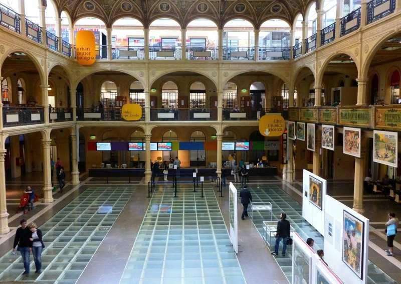 Bologna bambini biblioteca