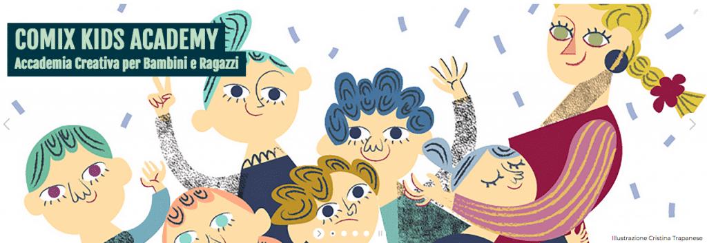 Fumetto scuola kids Napoli