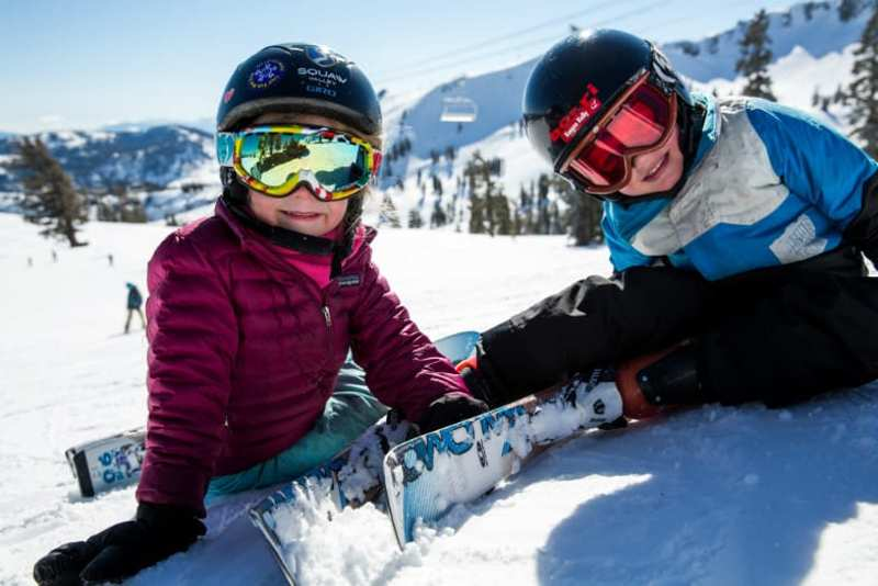 Abruzzo neve sci bambini