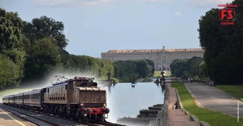 Reggia Caserta treno storico