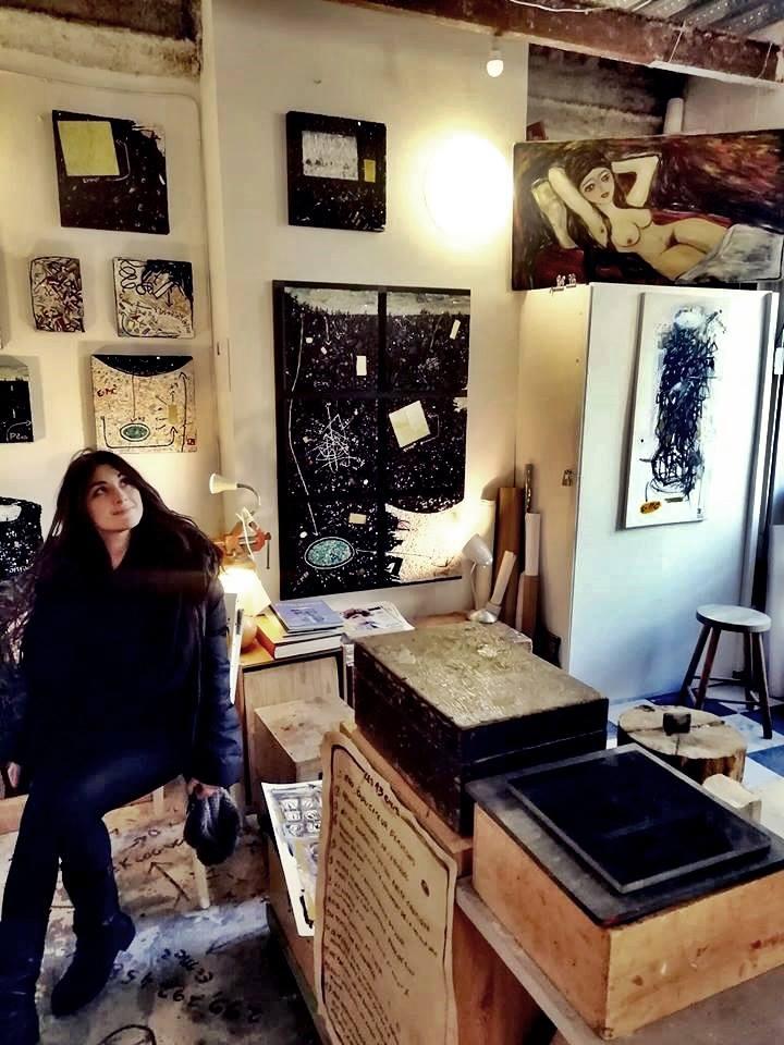 Rosa Rongone apre palestra arte Napoli