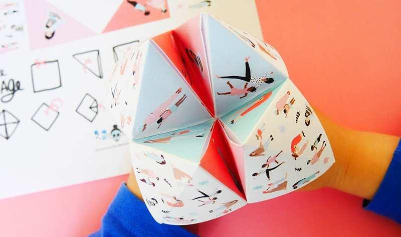giochi in viaggio origami