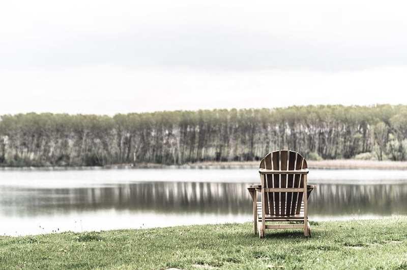 Ali del Frassino lago