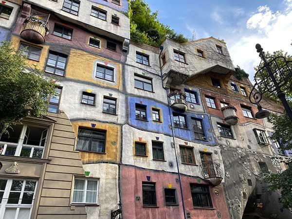 case di Hundertwasser