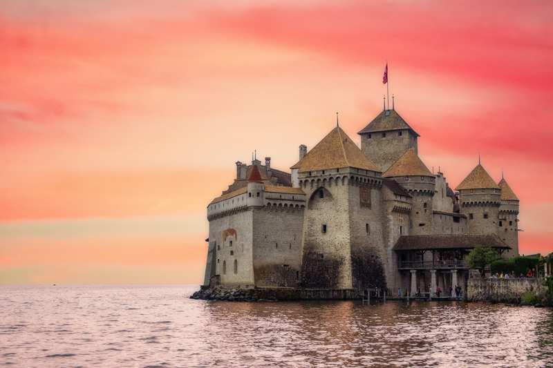 castello di Chillon a Veytaux