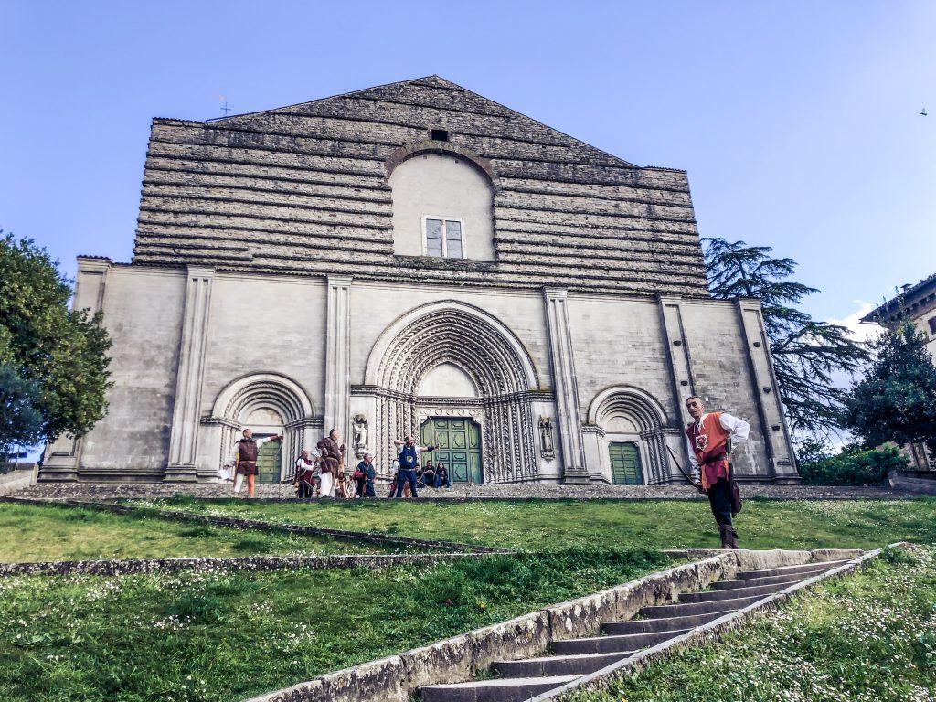 Todi chiesa san Fortunato