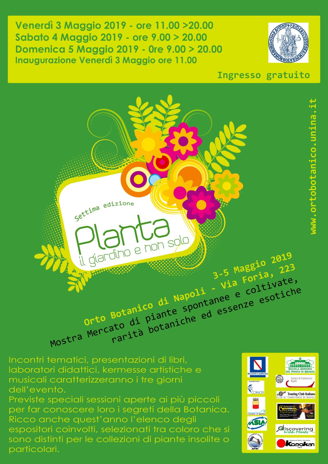 locandina planta 2019