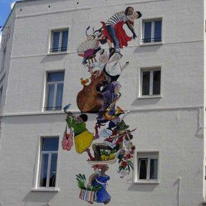 primo murale a Bruxelles