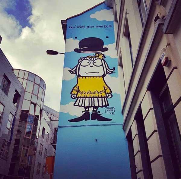 Bruxelles murale Vanna Vinci