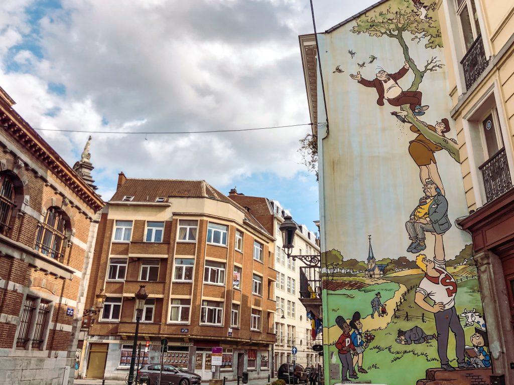 Bruxelles Murales Sait Gery