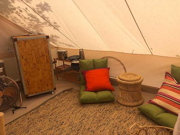 campeggio lusso