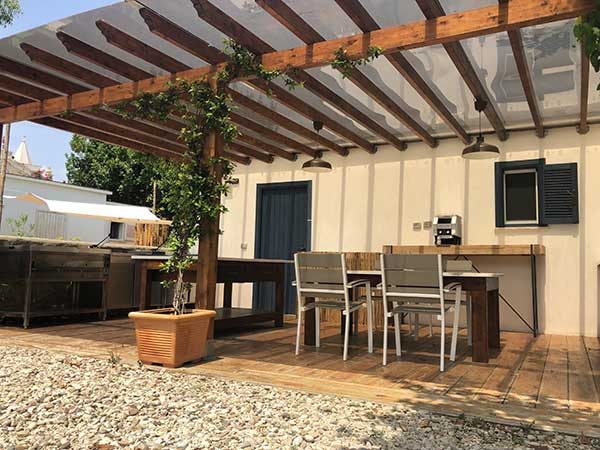 camping lusso