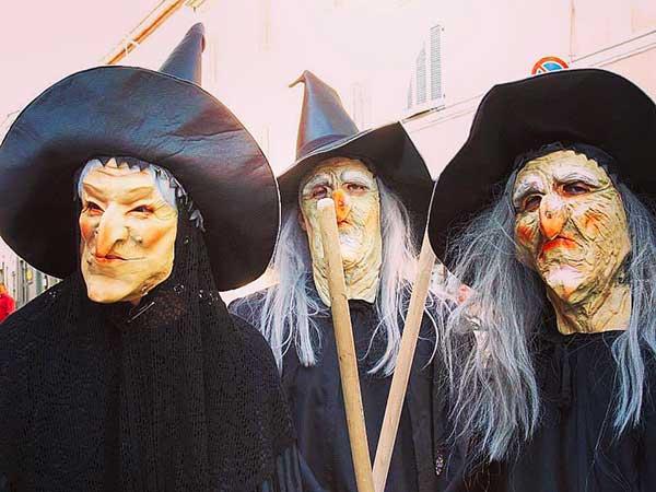 la festa delle streghe a Montalto MArche