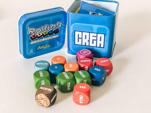Giochi di parole rollins cubes