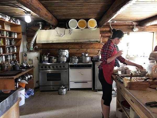 Canada lake louise tea House