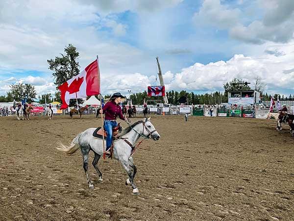 Canada undicesimo giorno il rodeo a Calgary
