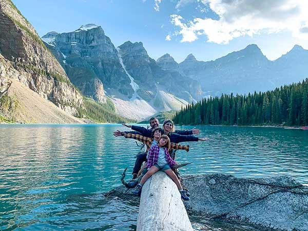 canada viaggiapiccoli lake moriane