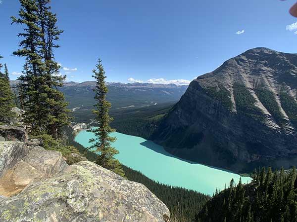 lake louise canada vista