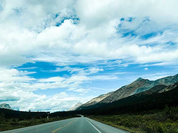Canada Icefield parkway