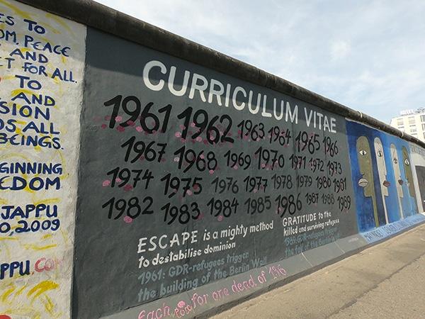 Berlino muro