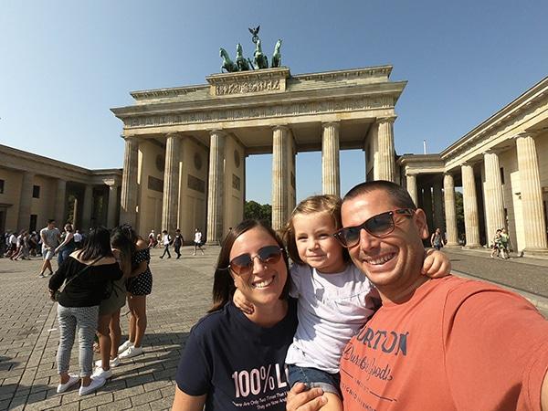 porta brandeburgo Berlino