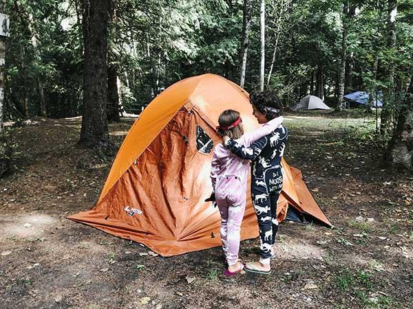 campeggio per bambini consigli