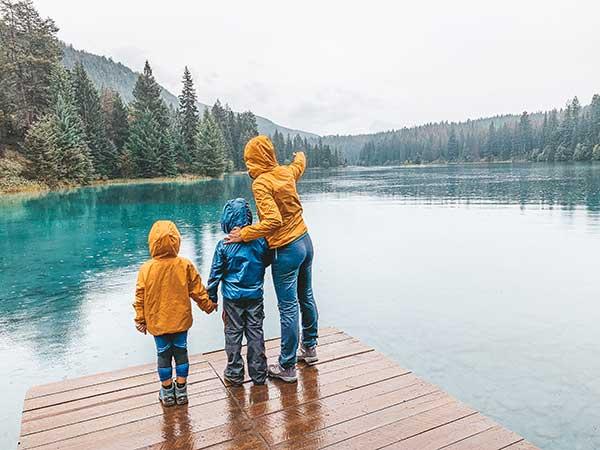 canada jasper five lakes