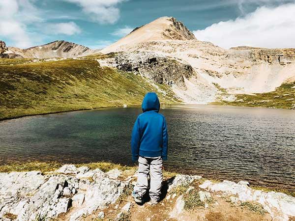 canada occidentale laghi lake helen