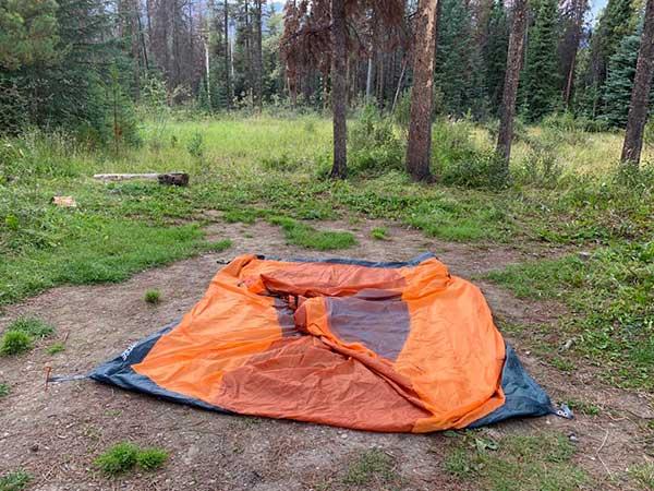 come montare una tenda
