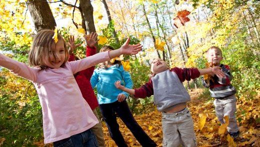 napoli bambini autunno