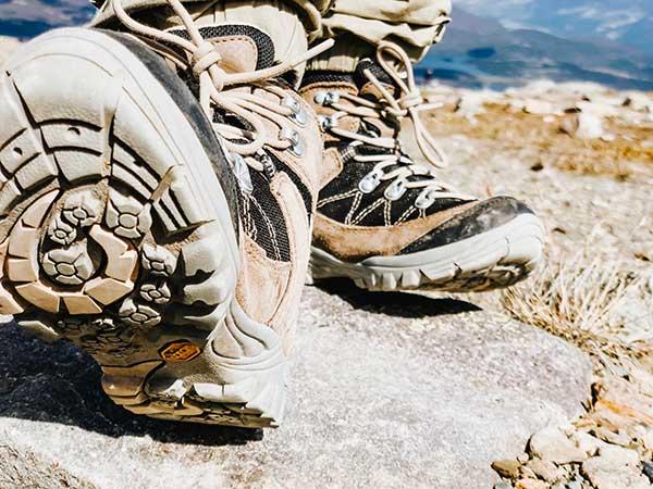 scarpe trekking bambino suola
