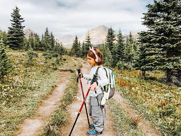 trekking bambina