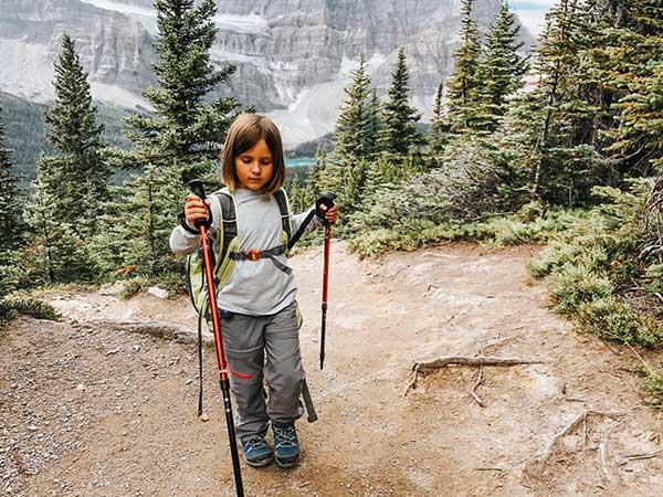 trekking bambini attrezzatura