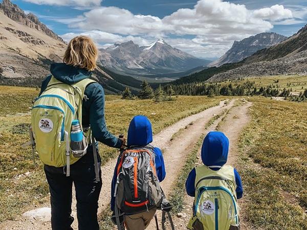 trekking con i bambini