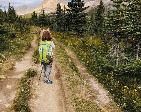zaino trekking bambina