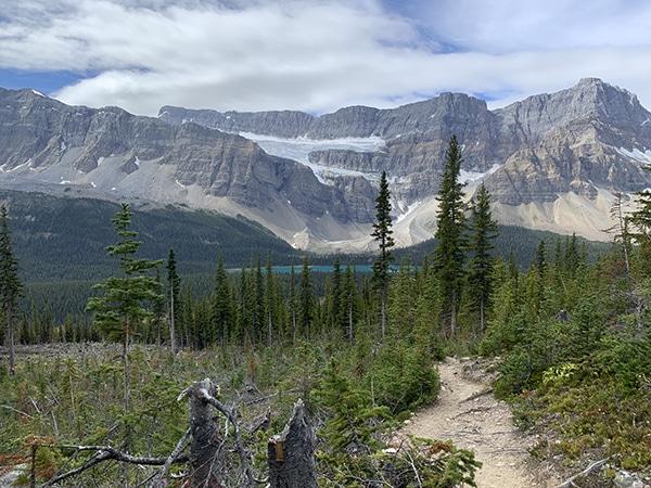 parco nazionale banff trekking
