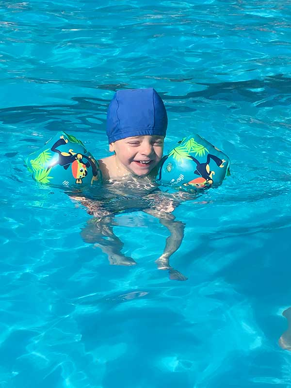 piscina campeggio