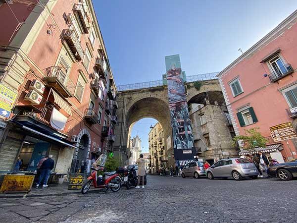 rione sanita ponte murales