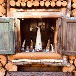 elfi di natale in legno