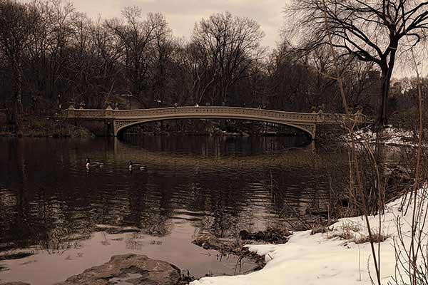 Bow Bridge a Central Park